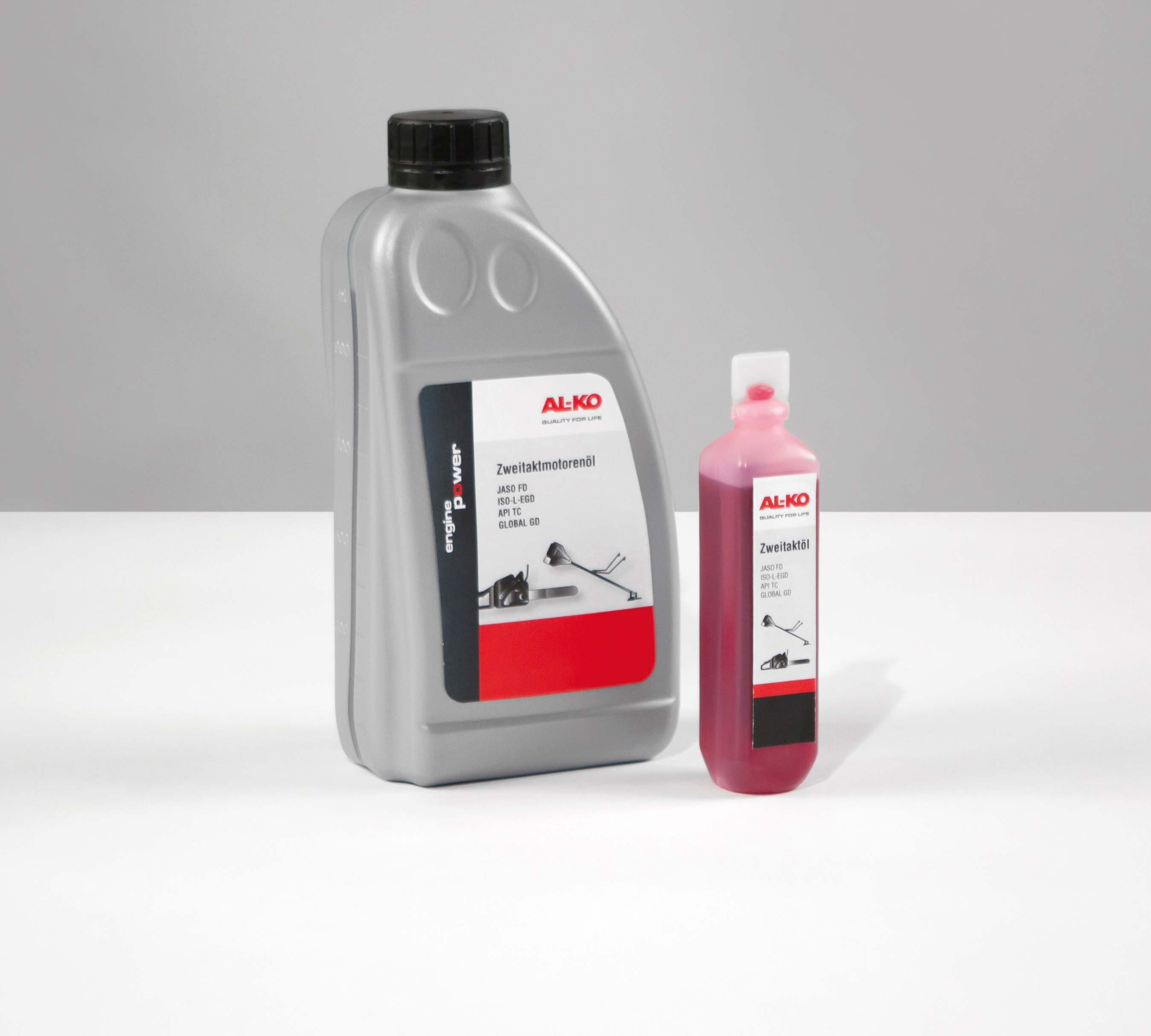AL-KO 2-Takt Motorsensen-/ Kettensägeöl 1 Liter Bild 1