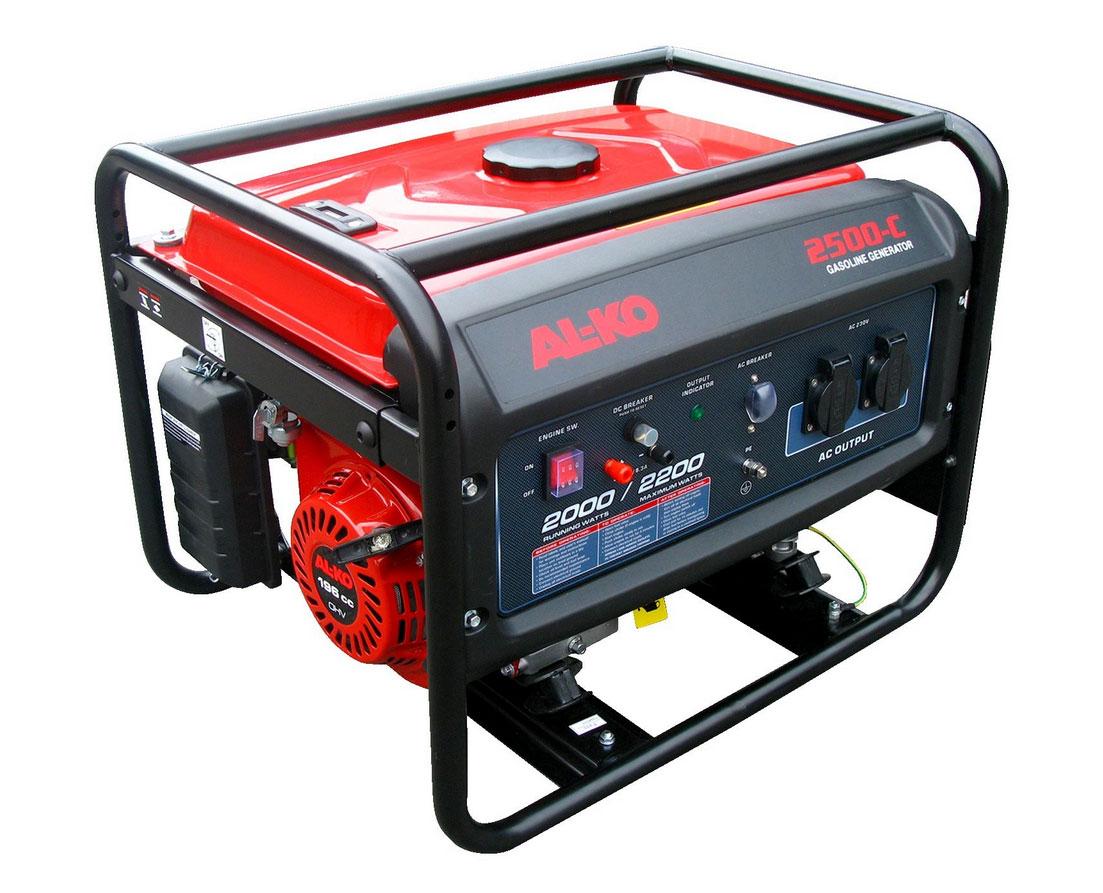 Stromerzeuger / Stromaggregat AL-KO 2500-C  2000 / 2200 W Bild 1