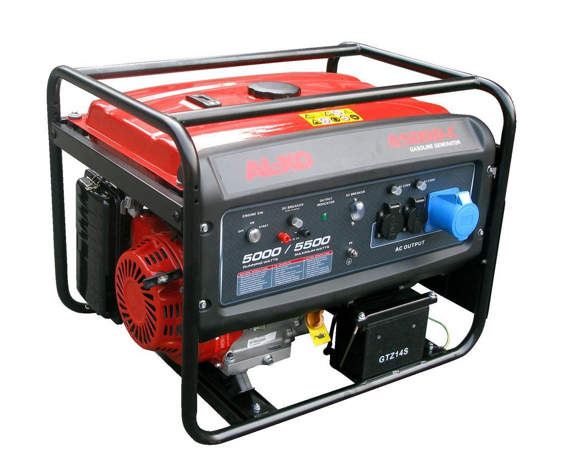 Stromerzeuger / Stromaggregat AL-KO 6500-C 4 5000 / 5500 W Bild 1
