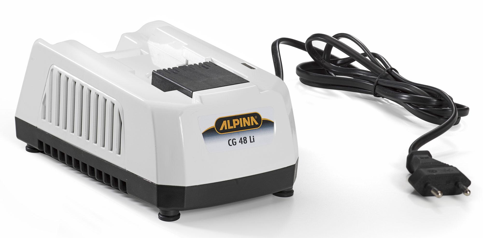 alpina akku ladeger t cg 48 li standard f r 48 volt akkus bei. Black Bedroom Furniture Sets. Home Design Ideas
