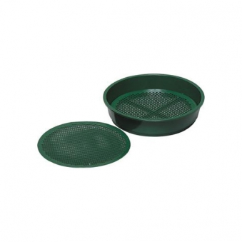Erdsieb grün 38 cm Kunststoff Bild 1
