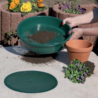 Rundsieb grün 4-6mm Kunststoff Bild 1