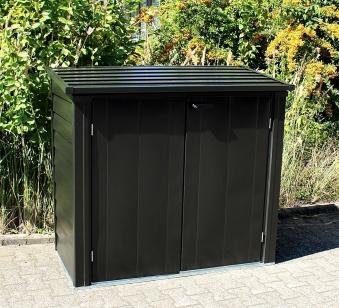 Arrow Gartenbox / Gerätebox Versa Multibox S onyx 144x75x128cm Bild 1
