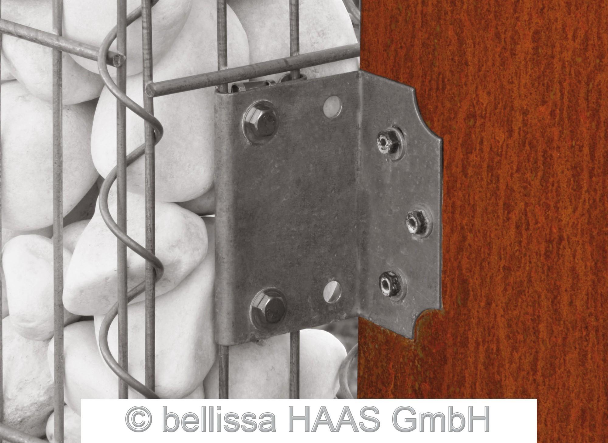 Anbauwinkel für Gabionen bellissa 4,5x9,2cm Bild 3
