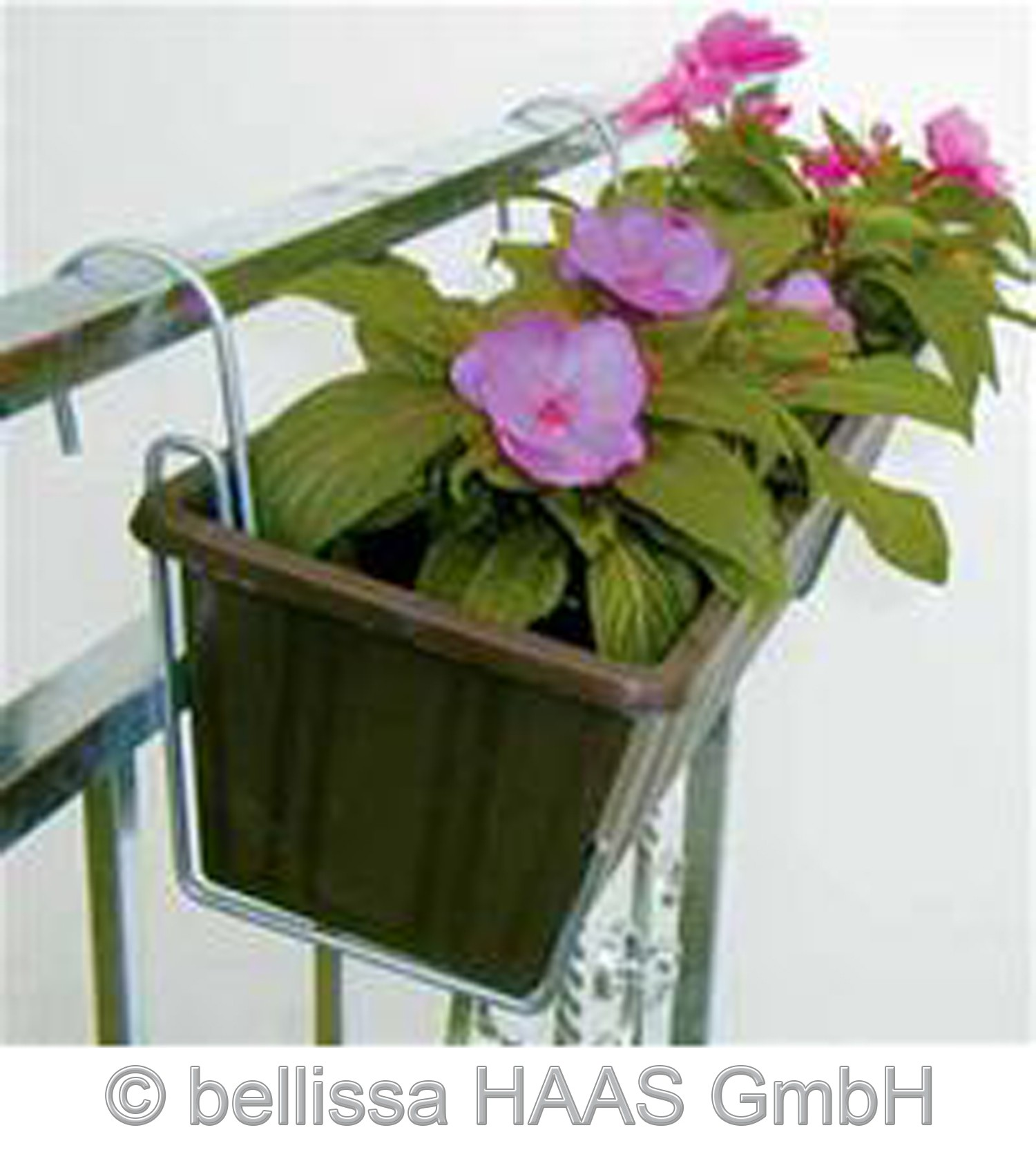 Blumenkastenhalter groß verzinkt bis 30kg bellissa B15,5cm 1Stück Bild 3