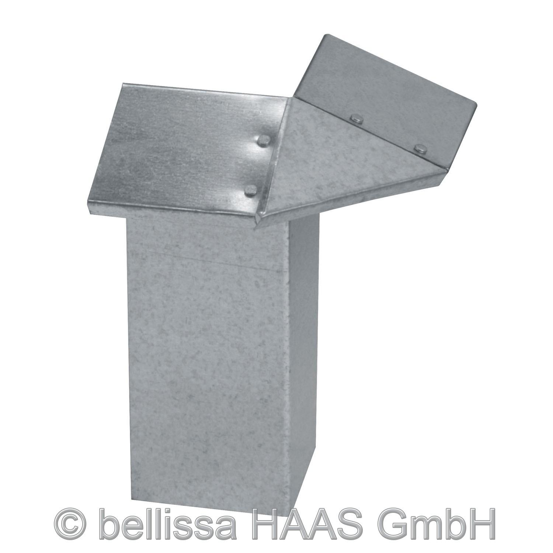 Eckteil für Schneckenblech bellissa 7x7x20cm Bild 1