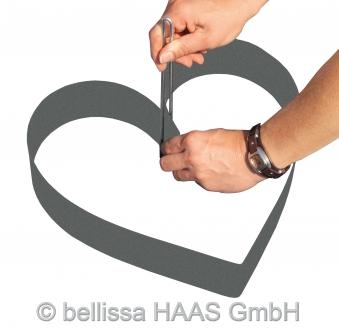 Formkante Kunststoff mit Spezialheringen bellissa L500xH7cm Bild 3
