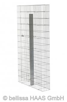 Gabione / Steinkorb Pronto mit Pfosten bellissa 102,5x23,5x195cm Bild 1