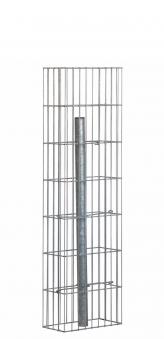 Gabionensäule / Gabionenstele Pronto mit Pfosten bellissa 15x30x105cm Bild 1