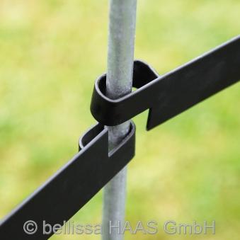 Gartenzaun Element Flex bellissa 114x97cm Bild 3
