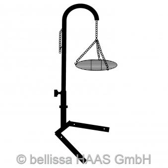 Grillgalgen für Feuerstelle / Grillstelle bellissa 142cm Bild 1