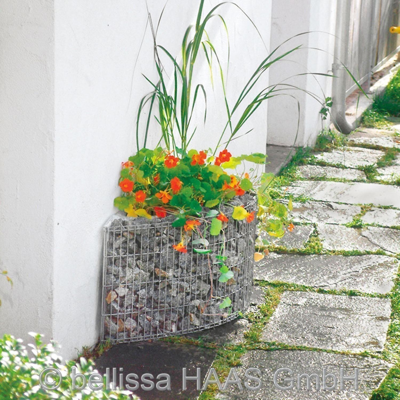 Hochbeet / Hauswandbeet Steinkorb bellissa 118x35x40cm Bild 1
