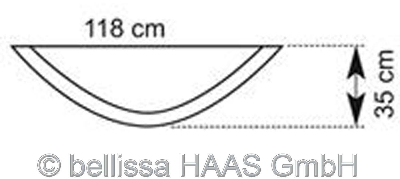 Hochbeet / Hauswandbeet Steinkorb bellissa 118x35x40cm Bild 3