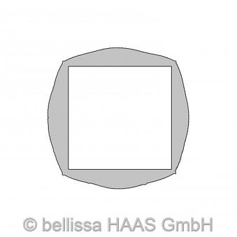 Hochbeet / Pflanzgabione Basic bellissa 113x113x40cm Bild 2