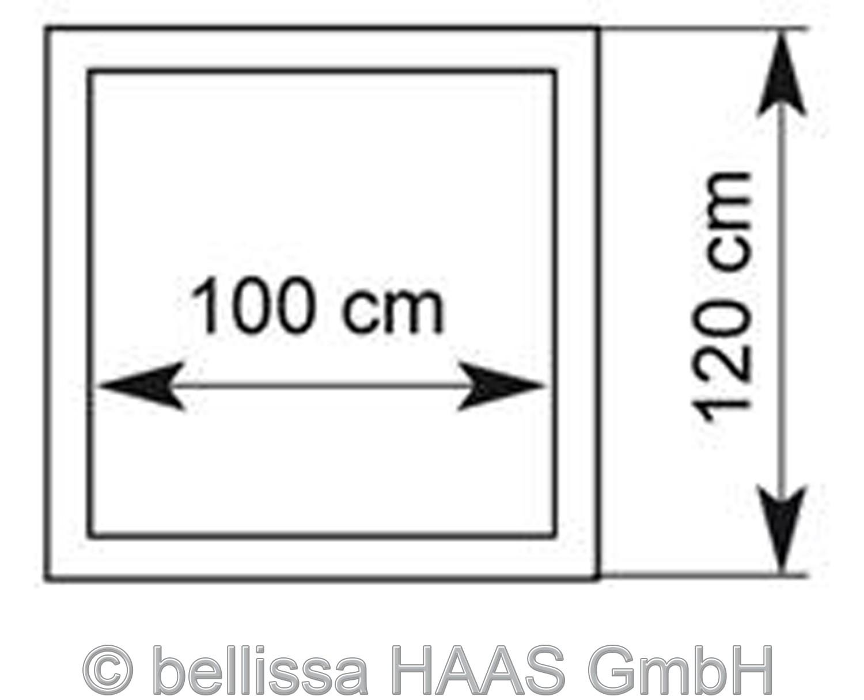 Hochbeet Steinkorb bellissa 120x120cm Höhe 40cm Bild 2