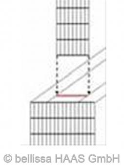 Innengitter für Schallschutz Gabionen bellissa 20x100cm Bild 1