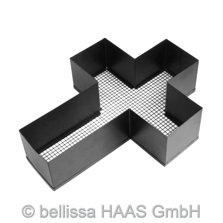 Pflanzschale / Blumenschale Stahl Kreuz bellissa 34x25x8cm Bild 2