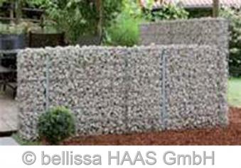 Pfosten verzinkt für Steinmauer bellissa 10x3x115cm Bild 3