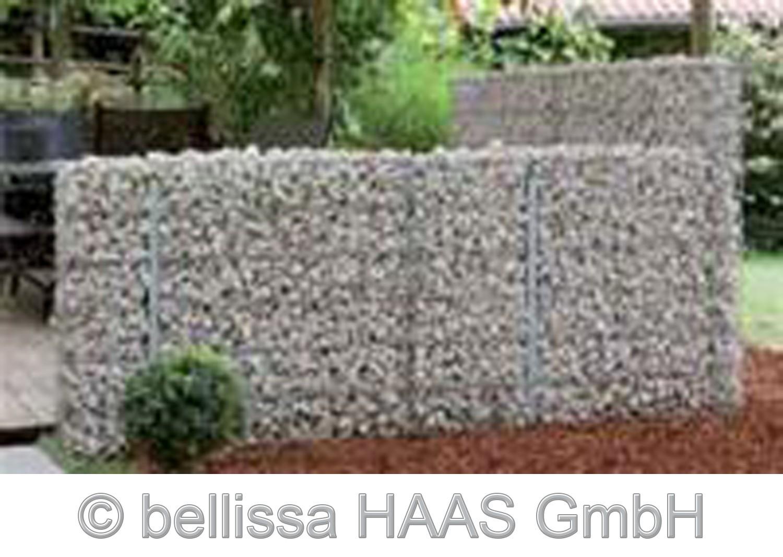 Pfosten verzinkt für Steinmauer bellissa 10x3x205cm Bild 3