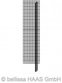 Pfosten verzinkt für Steinmauer bellissa 10x3x205cm Bild 1