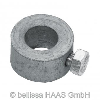 Pfosten verzinkt für Teichschutzzaun bellissa H130cm Ø10mm Bild 3