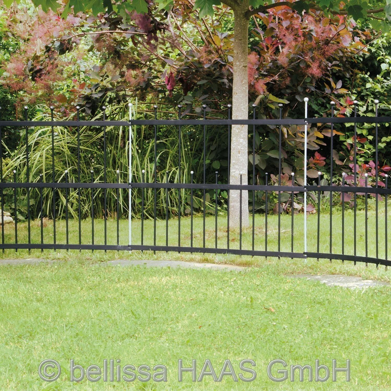 Rabattenzaun / Gartenzaun Element Flex bellissa 114x55cm Bild 1
