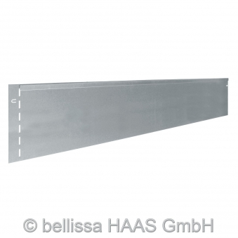 Rasenkante Metall verzinkt bellissa L118xH20cm Bild 2