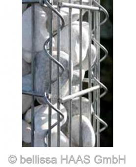 Verbindungsspirale für Schallschutz Gabionen bellissa 50/60cm