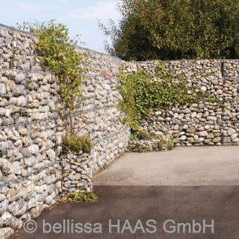 Steinkorb Ösen Gabione bellissa 100x20x40cm Bild 2