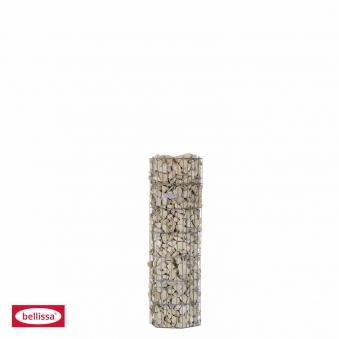Steinsäule Gabione pronto 6Eck mit Pfosten bellissa 34,5x30x105cm Bild 2