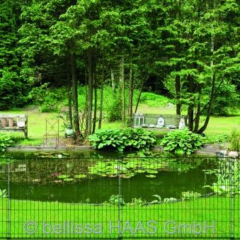 Teichschutzzaun ohne Schnörkel bellissa 116x80cm Bild 2