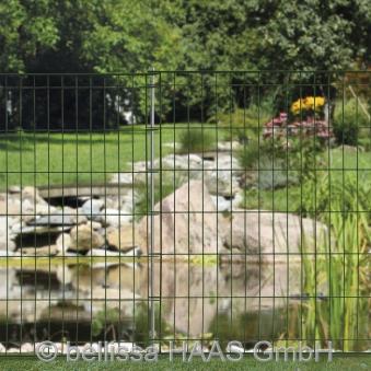 Teichschutzzaun ohne Schnörkel bellissa 76x80cm Bild 1