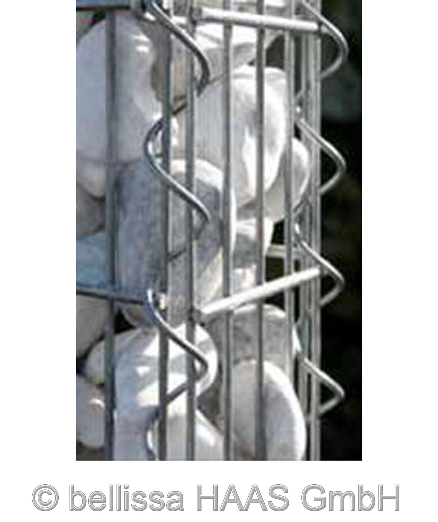 Verbindungsspirale für Schallschutz Gabionen bellissa 100cm Bild 1
