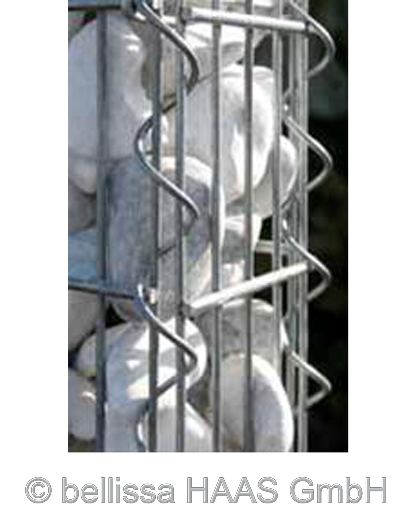 Verbindungsspirale für Schallschutz Gabionen bellissa 50/60cm Bild 1