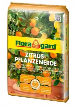Floragard Zitruspflanzerde 10 Liter Bild 1