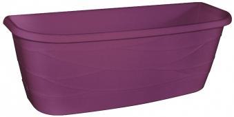 Blumenkasten Maya / Komplettset mit Halterung 50cm purple Bild 1
