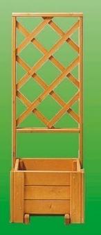 Rankkasten Blumenkasten + Spalier Blumenkastensystem Wachau 50x133cm