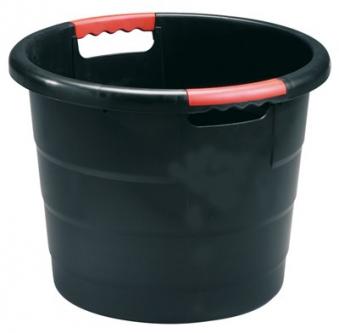 Universal-Rundbehälter Toni 30 Liter anthrazit GARANTIA 785030 Bild 1