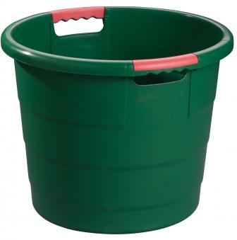 Universal-Rundbehälter Toni 30 Liter grün GARANTIA 785003 Bild 1