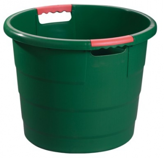 Universal-Rundbehälter Toni 70 Liter grün GARANTIA 785002 Bild 1