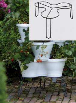 Blumenständer für elho Corsica Vertical Garden Pflanzgefäße anthrazit Bild 1