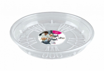 Blumentopf Untersetzer elho Uni-Saucer Round Ø 33cm transparent Bild 1
