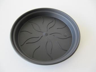 Untersetzer Blumentopf elho Pflanzkübel Green Basics Ø 14cm schwarz Bild 1