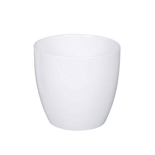 Blumentopf / Übertopf Scheurich Keramik Serie 920 Alaska weiß Ø16cm Bild 1