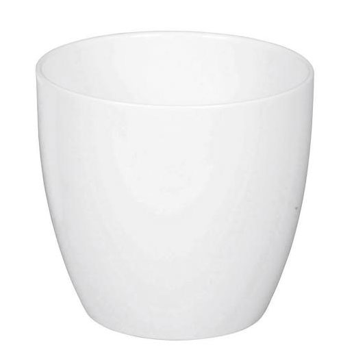 Blumentopf / Übertopf Scheurich Keramik Serie 920 Alaska weiß Ø18cm Bild 1