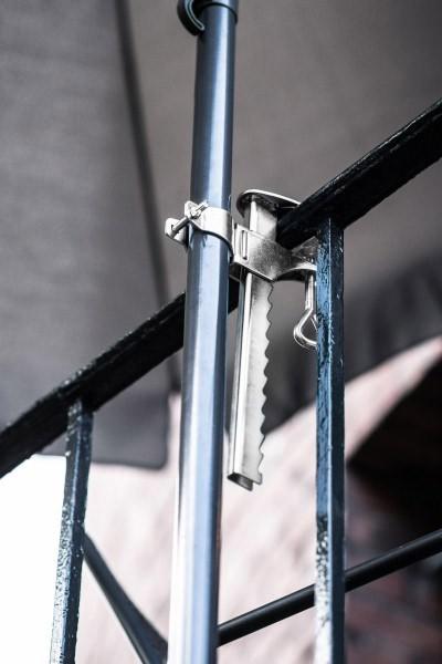 Greemotion Balkonklammer für Sonnenschirme Stahl Ø 25/32mm Bild 2