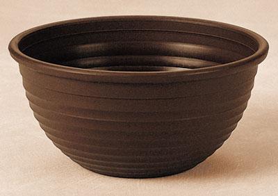 Geli Blumenschale Ø 34 cm braun Bild 1