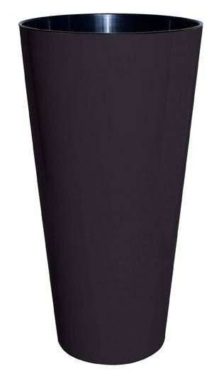 Geli Blumentopf / Pflanzgefäß Tubus Slim Ø 20 cm anthrazit Bild 1