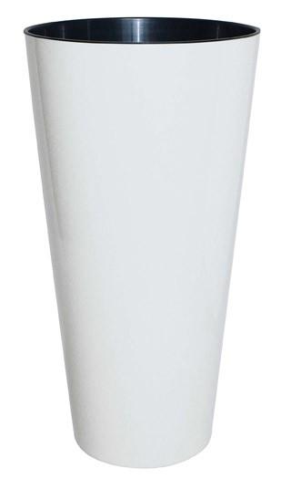 Geli Blumentopf / Pflanzgefäß Tubus Slim Ø 30 cm weiß Bild 1