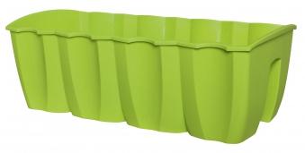 Geli Geländerblumenkasten Crown 58 cm grün Bild 1
